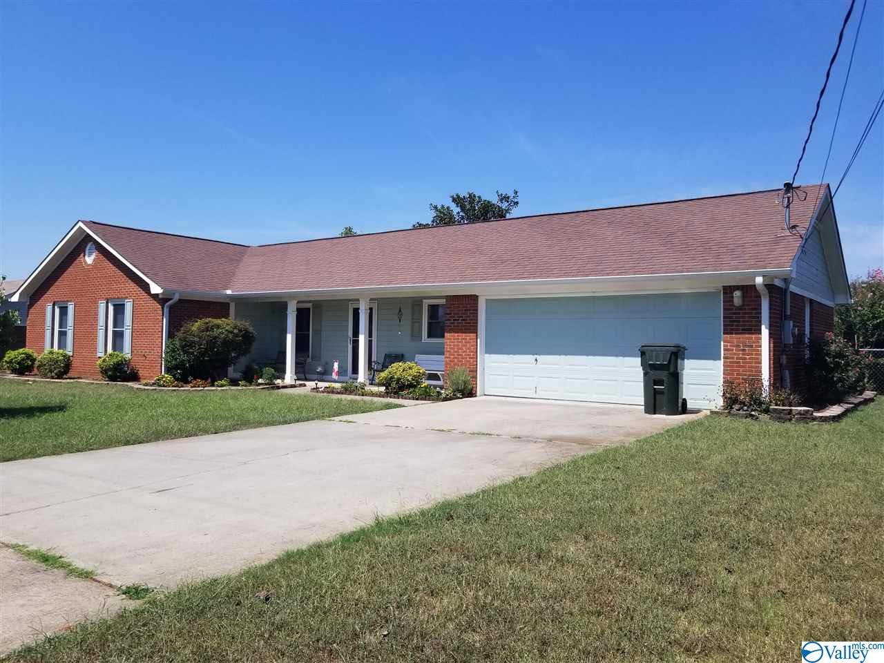 Auction will be held on-site Oct. 17th at 6pm. Home, Car & Personal Items. Nice brick rancher in Monrovia School District. Home features 3 bedrooms, 2 full bathrooms, approx. 1300 sq ft, vaulted ceilings, covered porch, fenced yard, nice outbuilding and 2 car attached garage. Personal items includes like new 2013 GMC Terrain with approx. 35,000 miles +/-, several sets of Temptations dinnerware & serving dishes, plus size women clothes, furniture, lamps, and tons of boxes of misc. items.